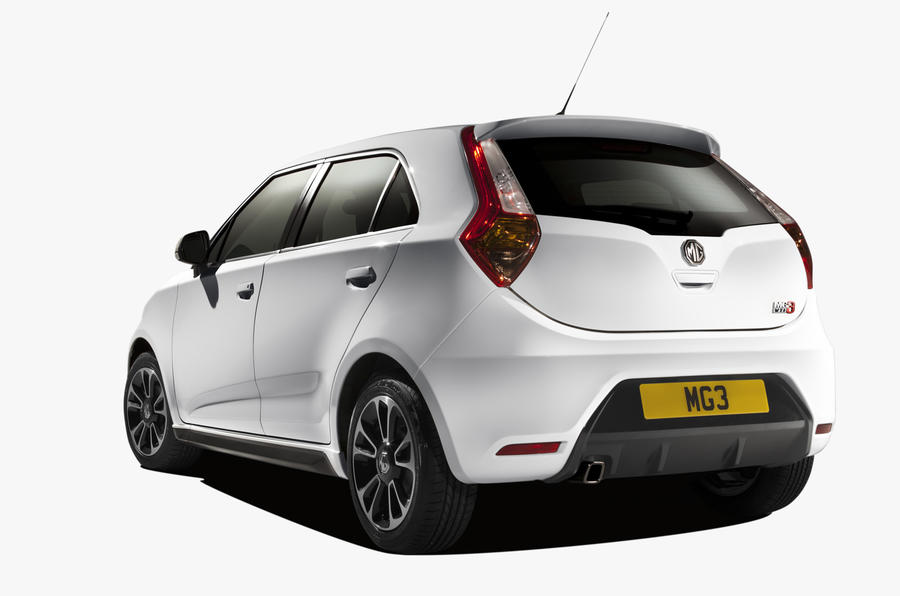 New MG 3 will cost less than £10,000