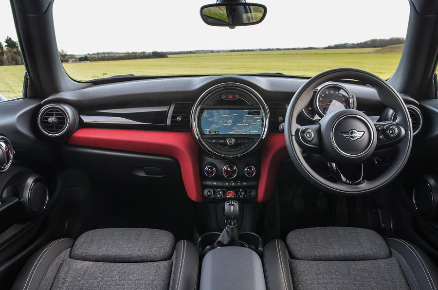 Mini Cooper D dashboard
