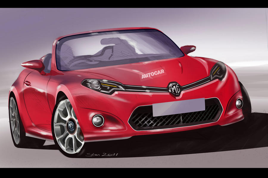 New MG sports car in development