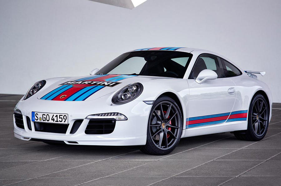 Porsche reveals Martini Racing Edition 911 Carrera S