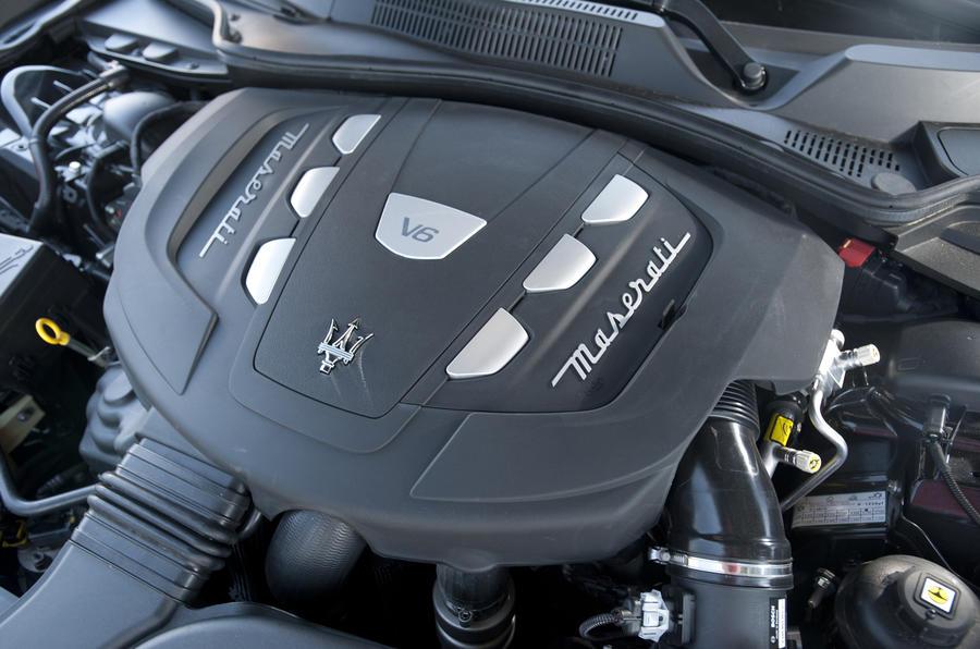 ... Maserati Ghibli V6 Diesel Engine ...