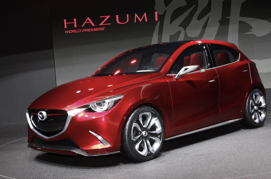 New Mazda 2 hinted in Hazumi concept