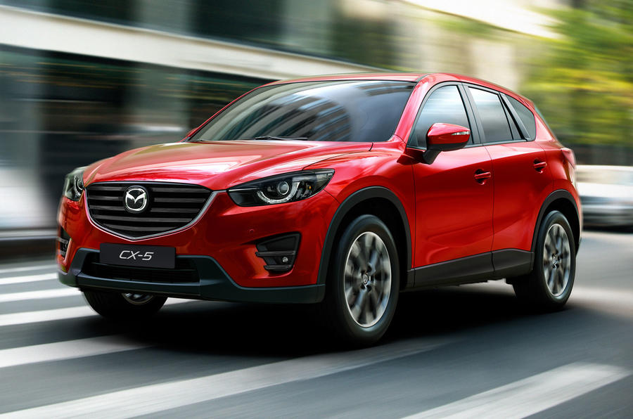 Mazda unveils CX-5 facelift at LA motor show