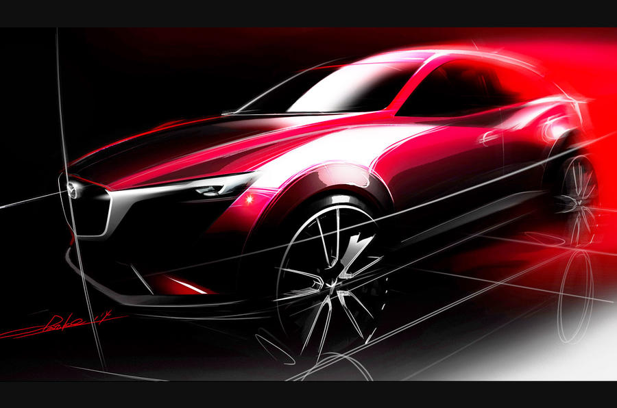 Mazda confirms new CX-3 crossover for LA motor show