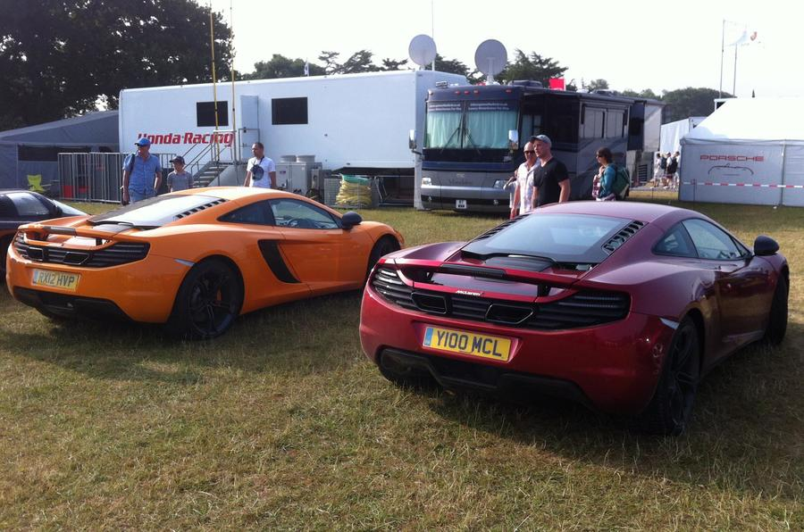 To the Goodwood Festival of Speed by McLaren MP4-12C