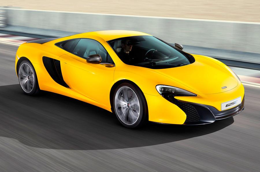 McLaren reveals new 625C for Asia