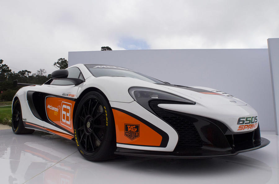 McLaren 650S Sprint unveiled at Pebble Beach