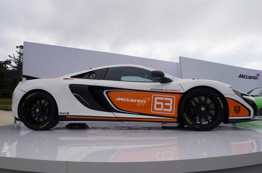McLaren reveals new 650S Sprint ahead of Pebble Beach debut
