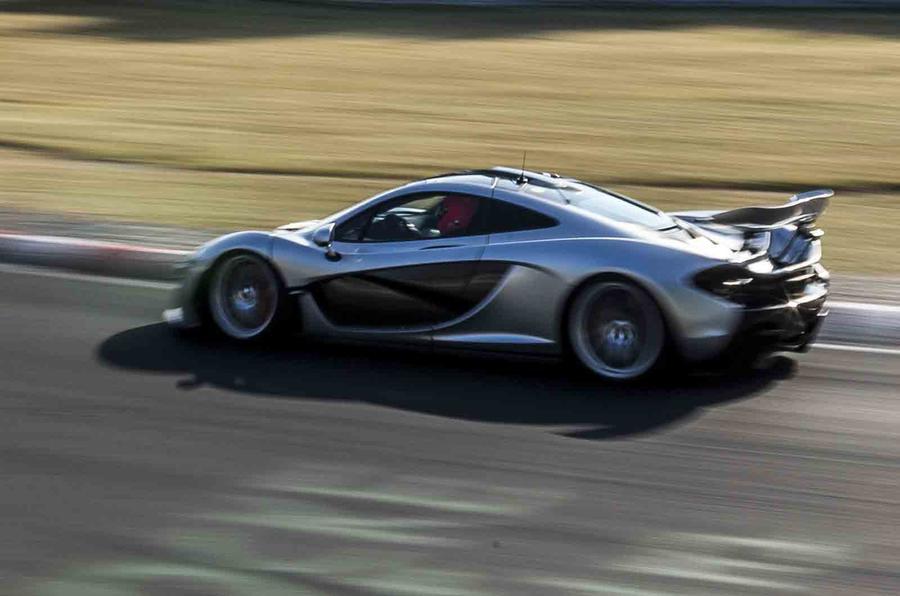 McLaren P1 completes sub-seven minute Nurburgring lap