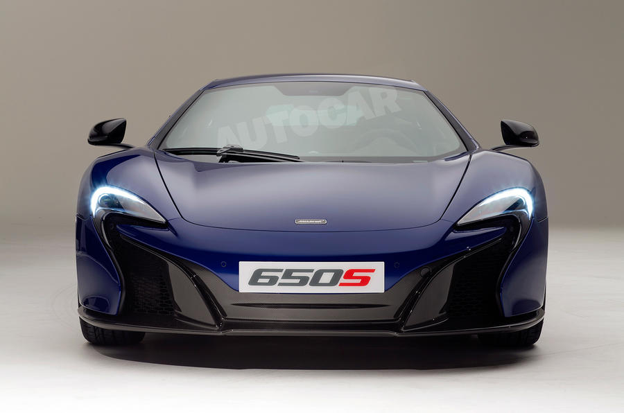 New McLaren 650S revealed – including exclusive studio pics and video