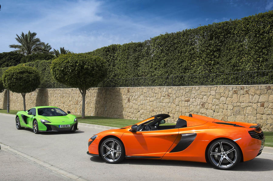 Mclaren's road car division in profit for the first time