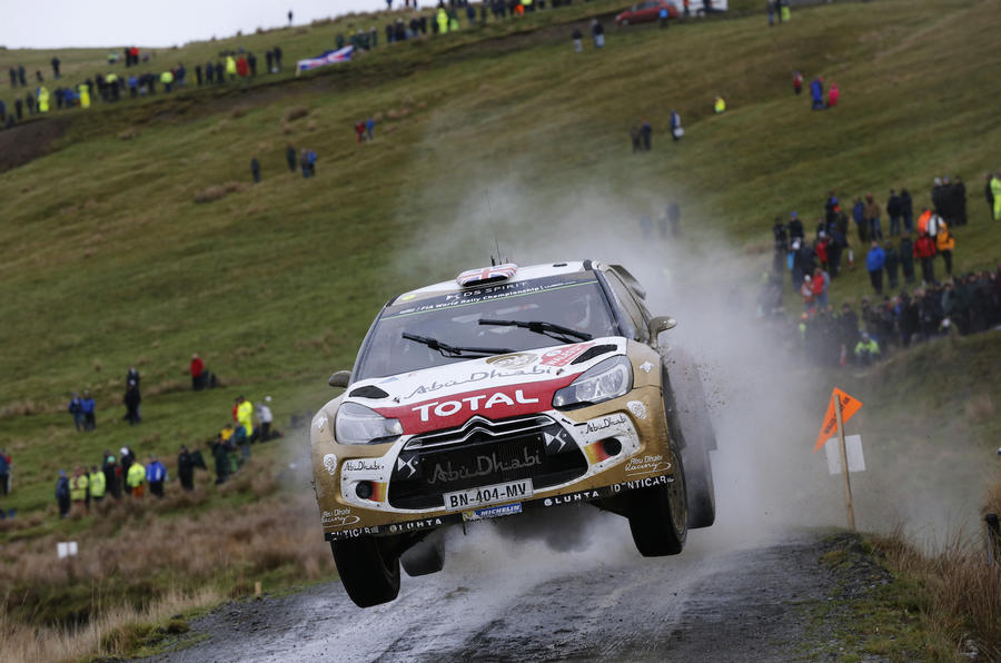 Kris Meeke, Citroën DS3 WRC, Rally GB