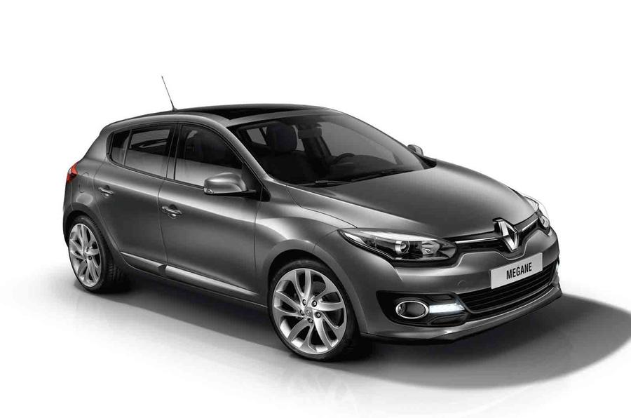 Facelifted Renault Megane to cost from £16,745