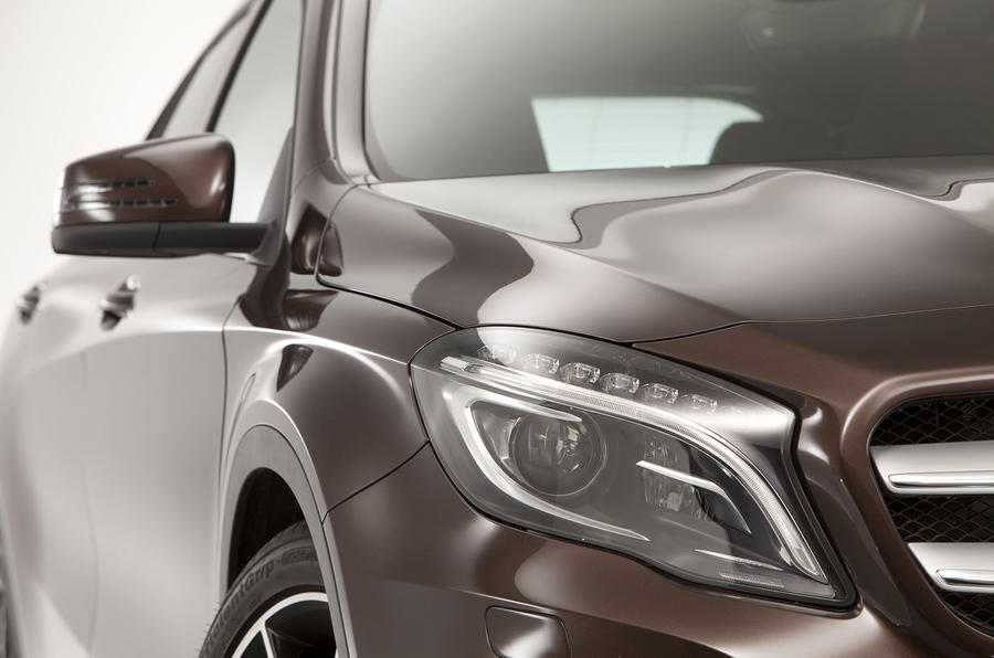 Mercedes Benz GLA revealed