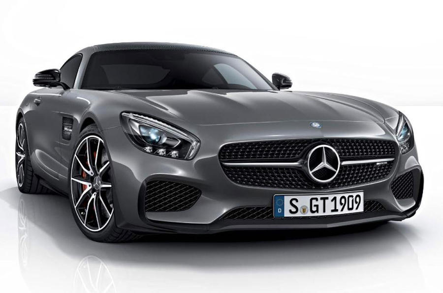 Mercedes-AMG GT Edition 1 leaked ahead of Paris debut