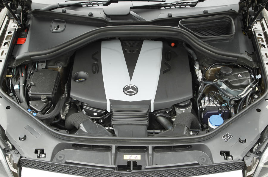 Mercedes-Benz GL turbodiesel engine