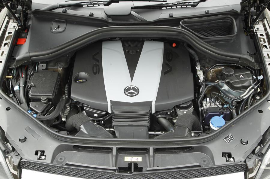 Mercedes-Benz GL turbodiesel engine