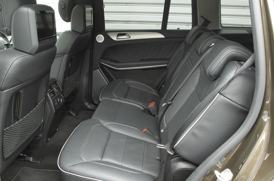 Mercedes-Benz GL rear seats
