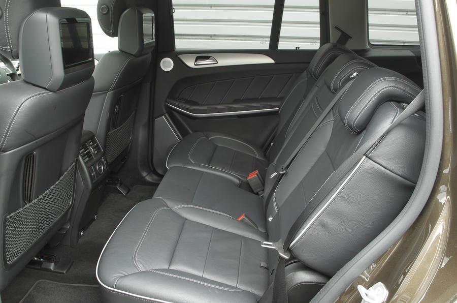 Mercedes-Benz GL rear seats