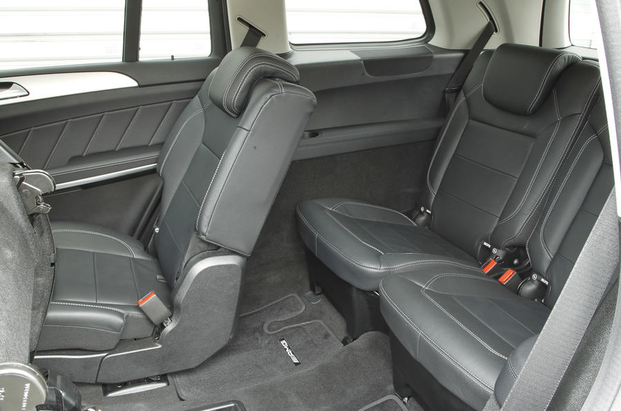Mercedes-Benz GL third row seats
