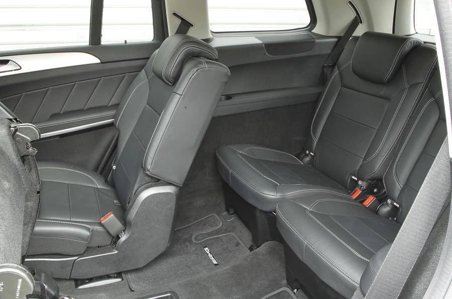 Mercedes-Benz GL third row seats