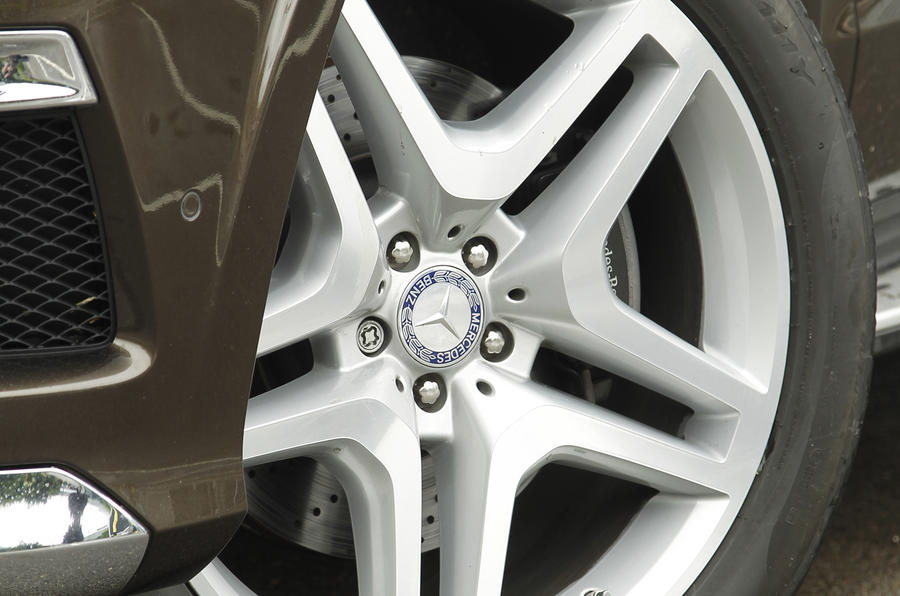 21in Mercedes-Benz GL alloy wheels