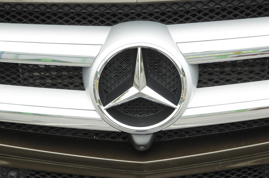 Mercedes-Benz GL front grille