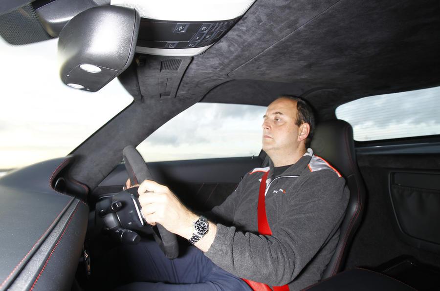 Driving the SLS Black Edition