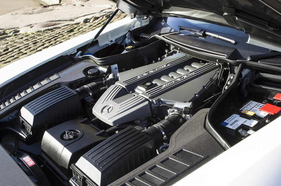 6.2-litre V8 SLS Black Series engine