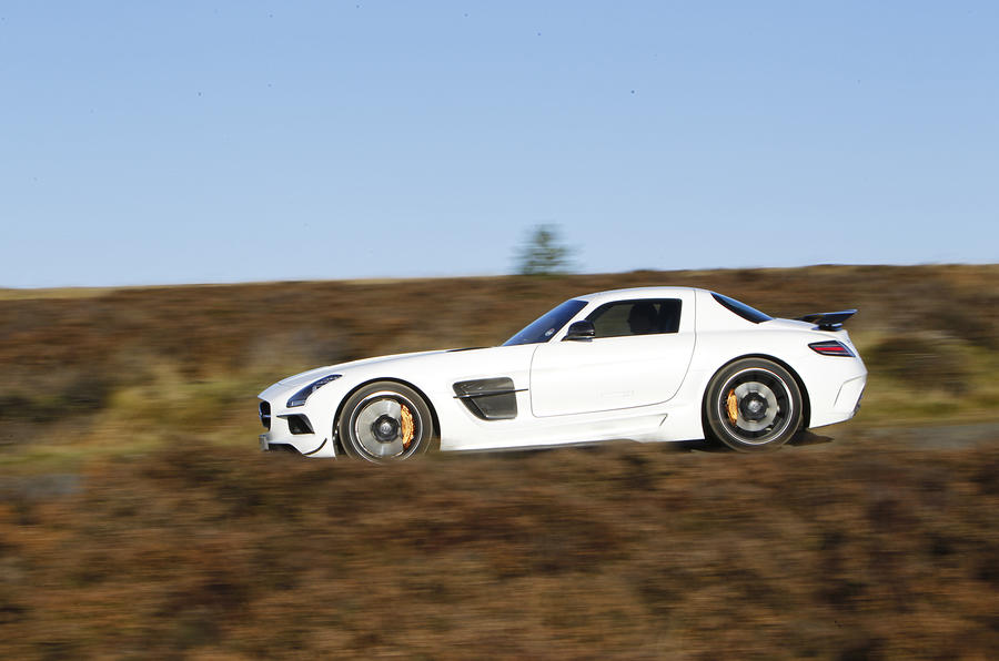 4 star Mercedes-AMG SLS Black Series