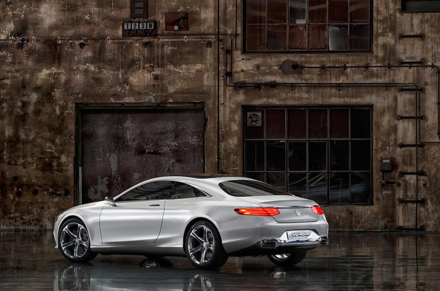 Mercedes-Benz S-class coupé revealed