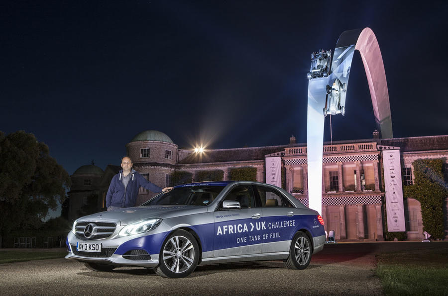 Mercedes E300 hybrid completes 1223 miles on a tank of fuel