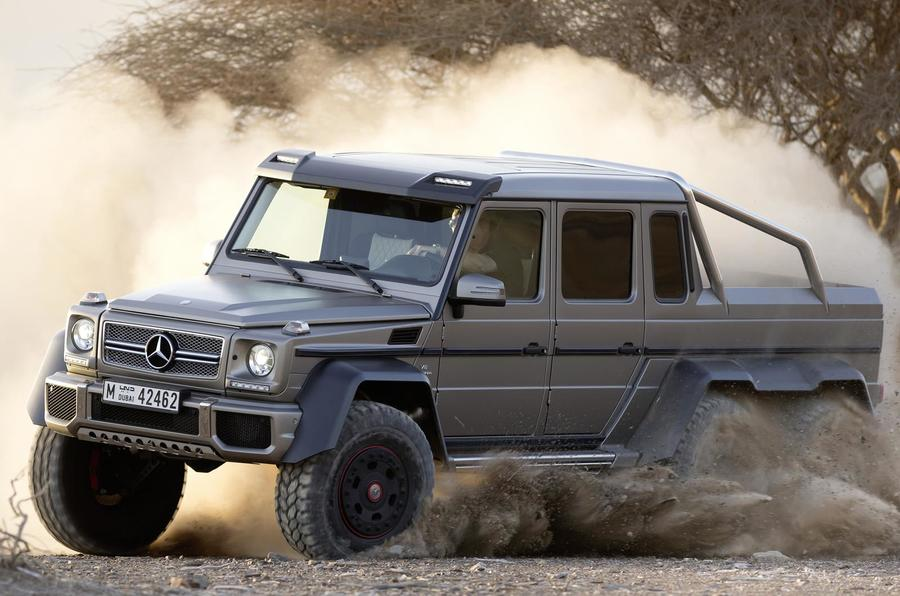 Mercedes G63 AMG 6x6 to cost almost £380,000