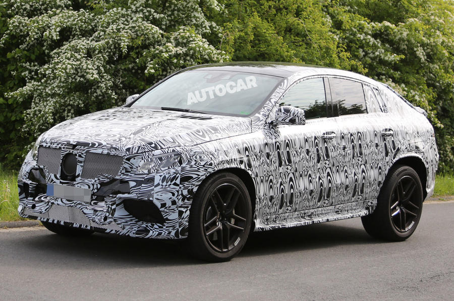Mercedes Plans Hot New Ml63 Amg Coup To Take On Bmw X6 M