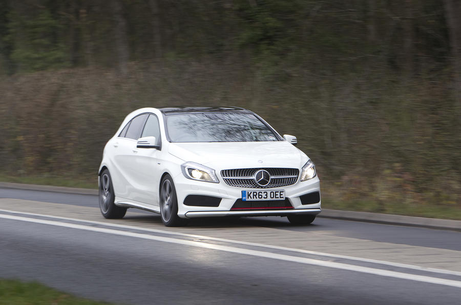 Mercedes benz a 250 engineered by amg first drive for Mercedes benz c250 maintenance cost