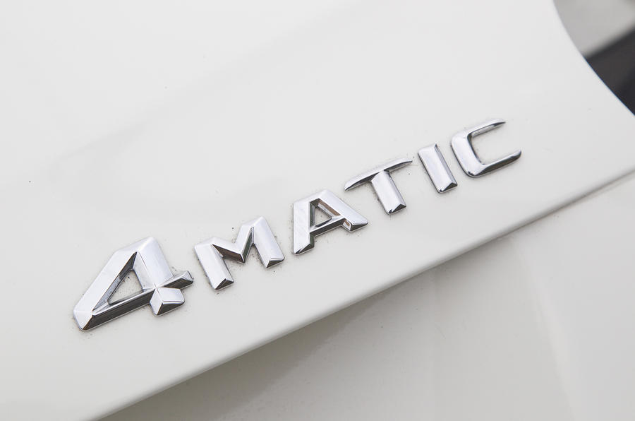 Mercedes-Benz A 250 4Matic badge