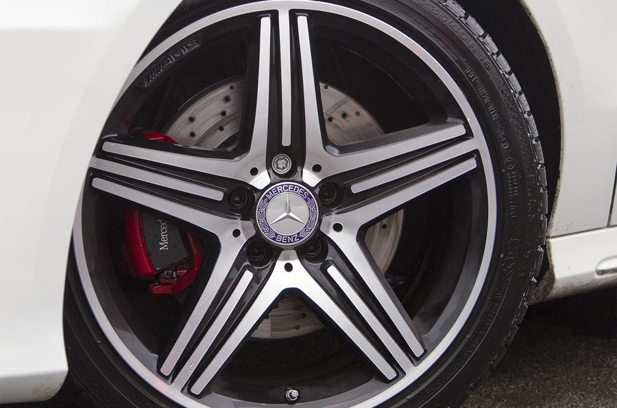 18in Mercedes-Benz A 250 alloy wheels