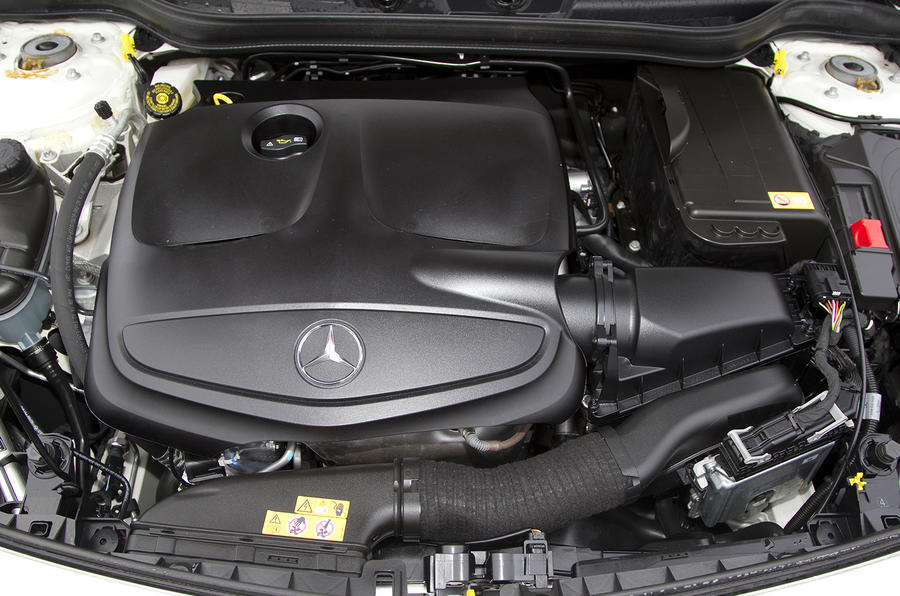 2.0-litre Mercedes-Benz A 250 engine