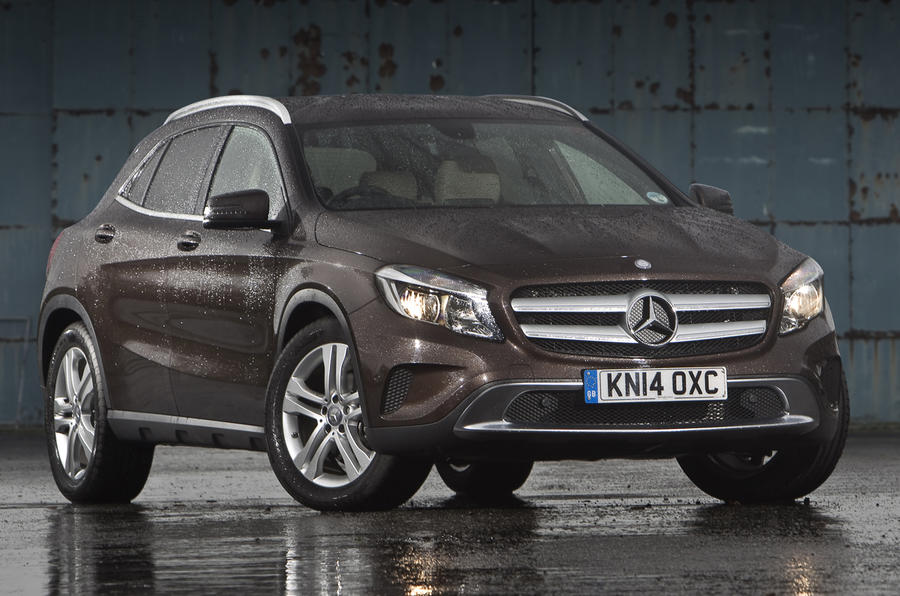 3.5 star Mercedes-Benz GLA
