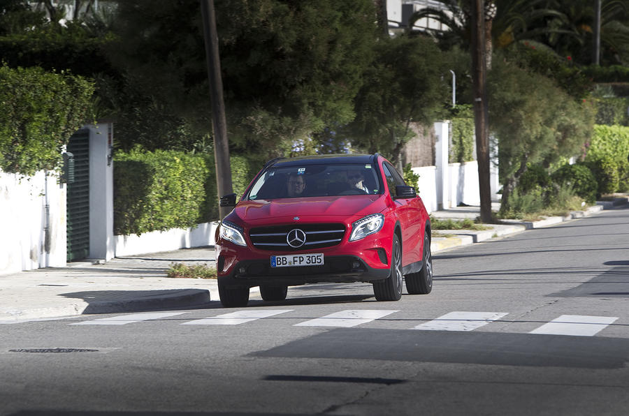 Mercedes-Benz GLA development secrets revealed