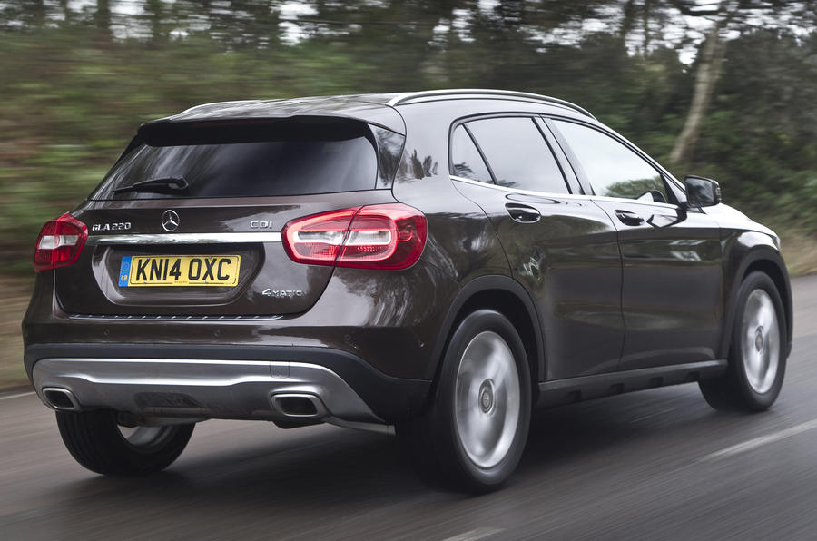Mercedes-Benz GLA rear quarter