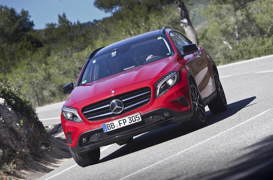 Mercedes-Benz GLA development secrets revealed