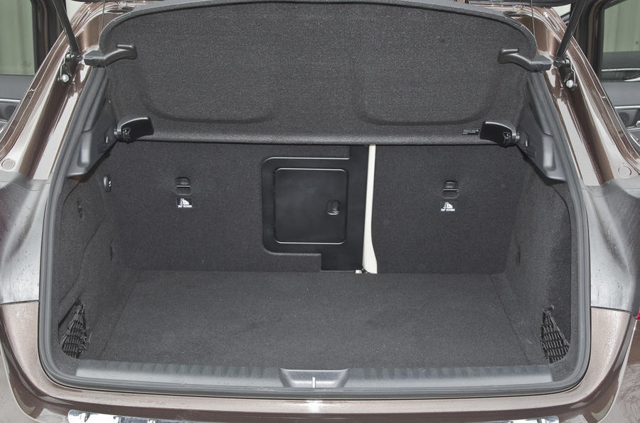Mercedes-Benz GLA boot space