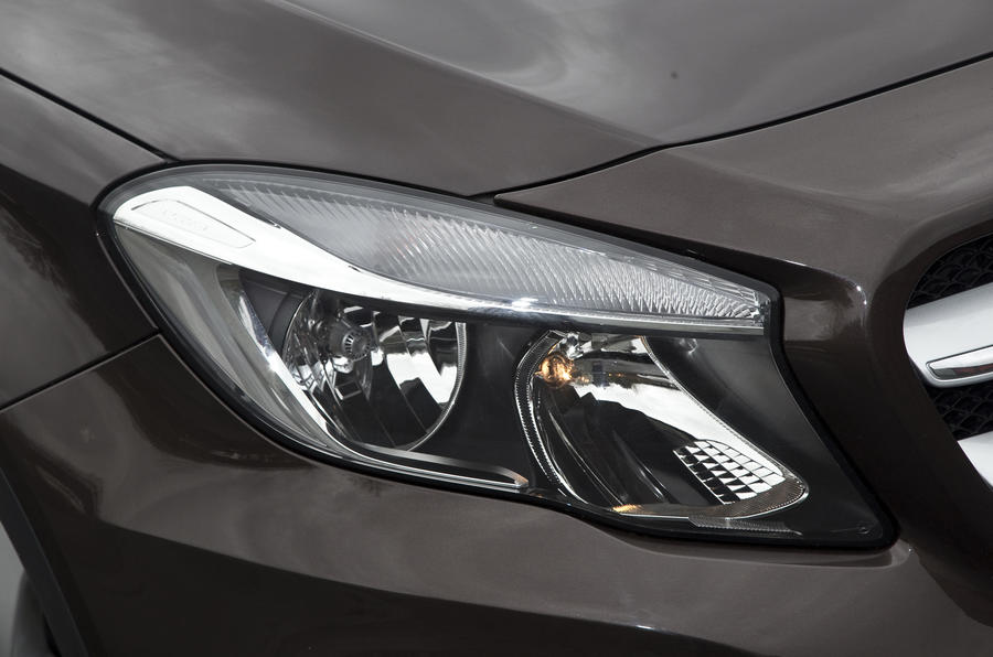 Mercedes-Benz GLA headlight
