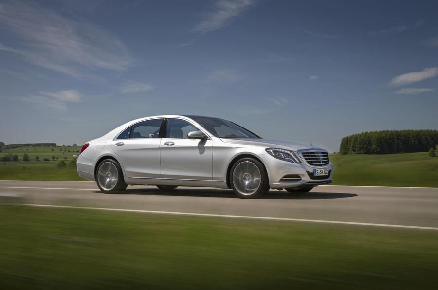 Mercedes-Benz S 500 L side profile