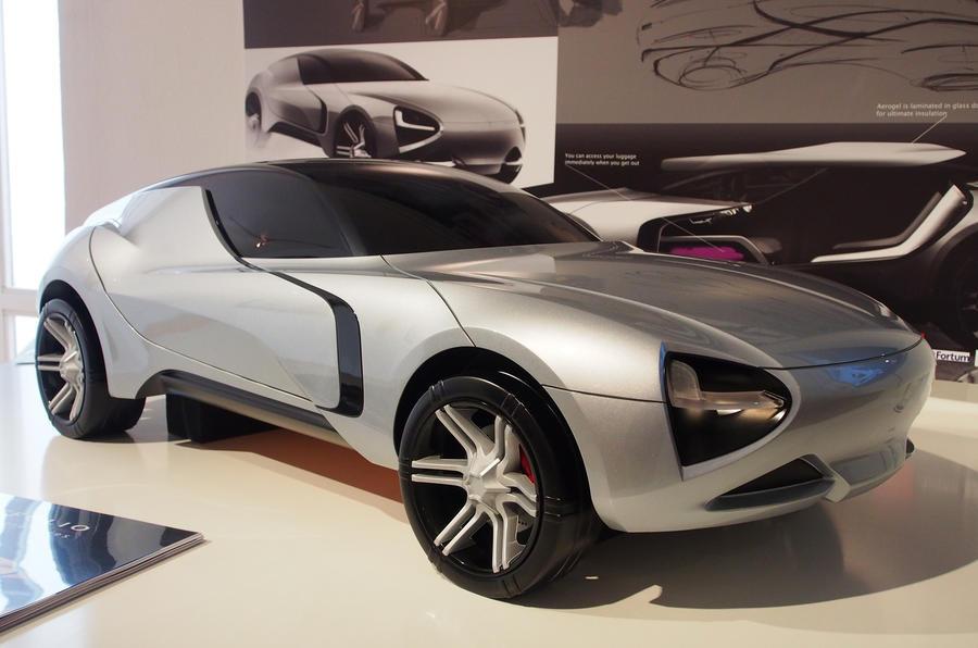 RCA Vehicle Design Exhibition Open Wednesday