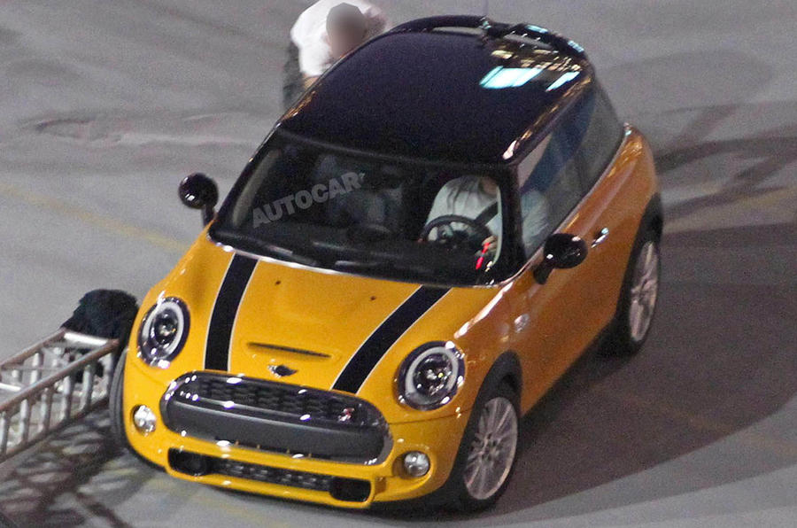 2014 Mini pictured undisguised
