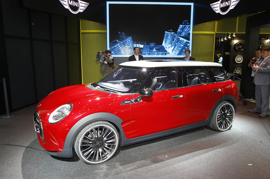 Concept previews next Mini Clubman