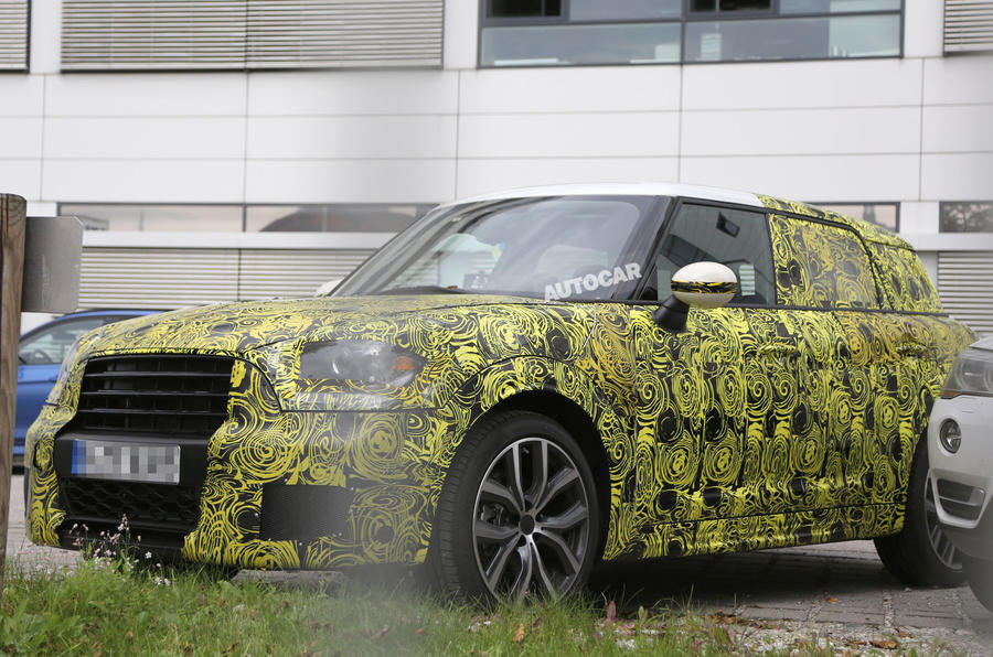New Mini Countryman starts development journey ahead of 2016 launch