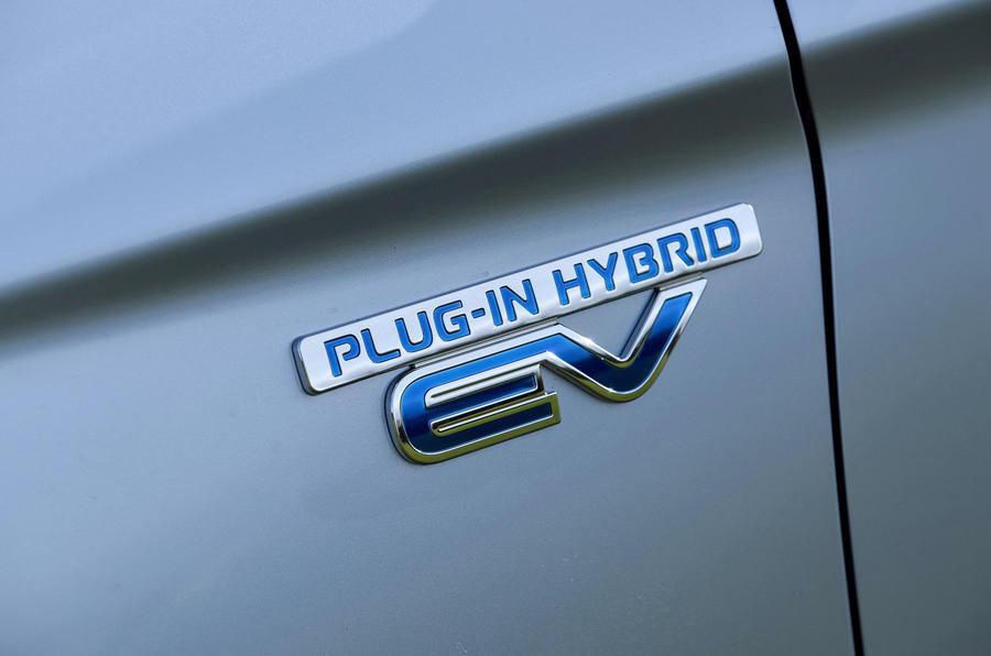 Mitsubishi Outlander PHEV badging